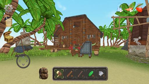 Survival Island: Building Simulator apkmind screenshots 1