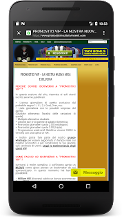 Pronostici Risultati Vincenti Aplicaciones (apk) descarga gratuita para Android/PC/Windows screenshot