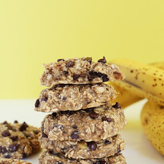 Healthy Chocolate Chip Banana Bread Breakfast Cookies