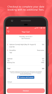 DateCart — Date Planning App (Unreleased)- screenshot thumbnail