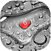 Droplet Love Keyboard Theme