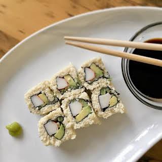Keto Sushi Roll.