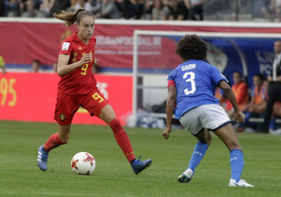"""Tessa Wullaert wil knallen met de Flames tegen Zwitserland: """"Achteraan zijn ze toch wel te pakken"""""""