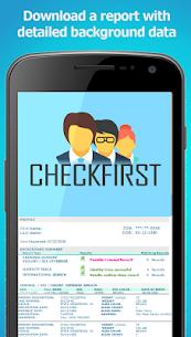 CheckFirst Background Check & People Finder App 5