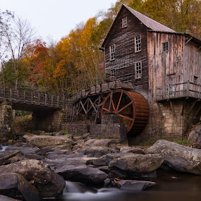 Old Virginia Mill by Norma Brandsberg - Buildings & Architecture Public & Historical ( nbrandsberg@gmail.com, glade creek mill, west virginia, www.elegantfinephotography.com, award winning, photographer, photo, norma brandsberg, gristmill,  )