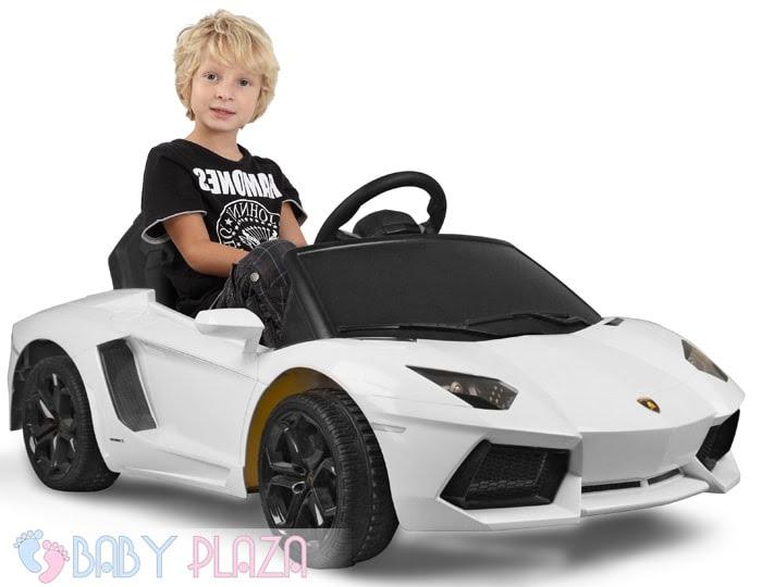 Siêu xe oto điện Rastar Lamborghini 81700 (LP700-4) trắng
