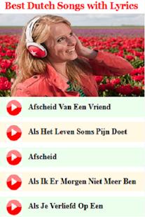 Best Dutch Songs with Lyrics - náhled