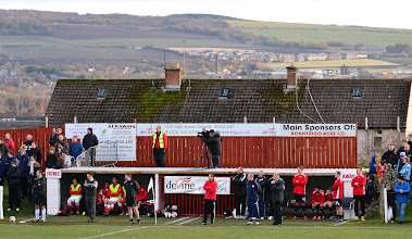 Photo: 10/11/12 v Brechin City (Scottish Cup Third Round Replay) 0-6 - contributed by Andy Gallon