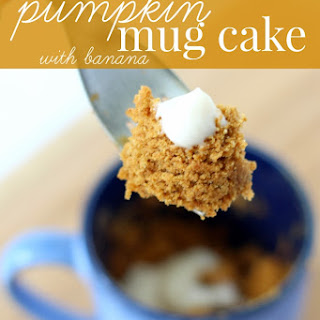 Gluten Free Microwave Pumpkin Mug Cake