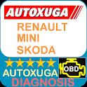 Renault, Mini, Skoda 3 scanner cars OBD2 ELM327 icon