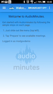 Audiominutes- screenshot thumbnail