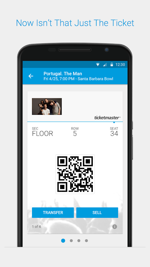 Ticketmaster - Event Tickets - screenshot