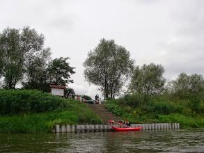 Photo: tu kończą spływ sąsiedzi