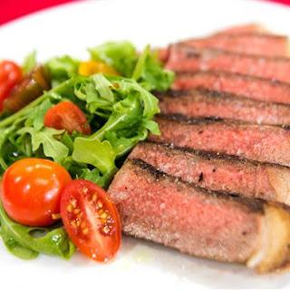 Marinated New York Strip Steak Recipe