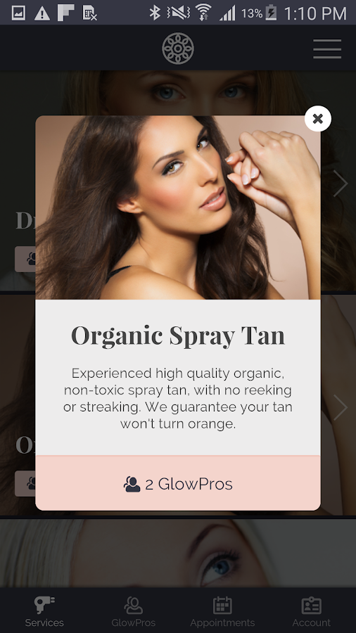 GLOW – Beauty on Demand- screenshot