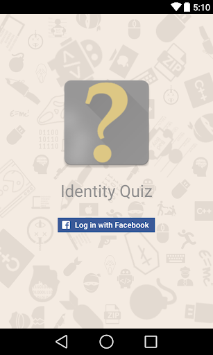 Identity Quiz