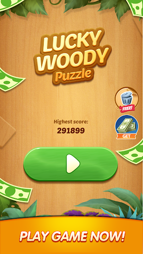 Lucky Woody Puzzle screenshot 1