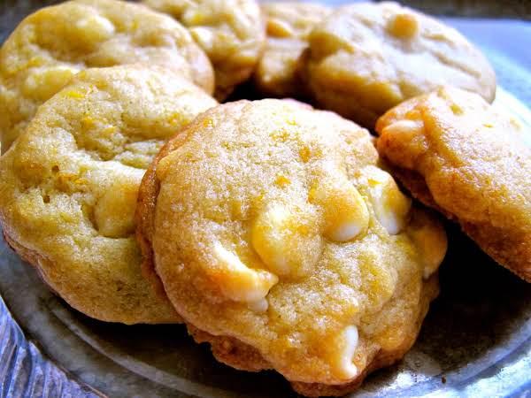 Orange White Chocolate Chip Cookies Recipe