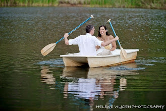 Photo: Up a creek with no paddle - wedding photos on our dam (King wedding 2015)