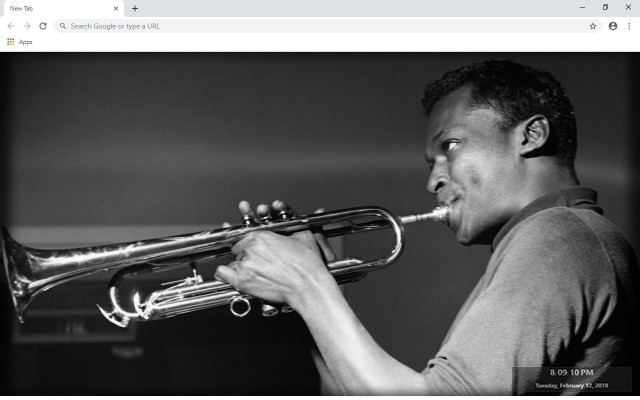 Miles Davis New Tab & Wallpapers Collection