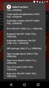 Now Gesture Tweaks Free Screenshot 4
