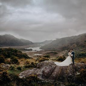 Elopment in Killarney Ireland :) by Kaspars Sarovarcenko - Wedding Bride & Groom ( wedding photographer ireland, wedding photographer limerick )