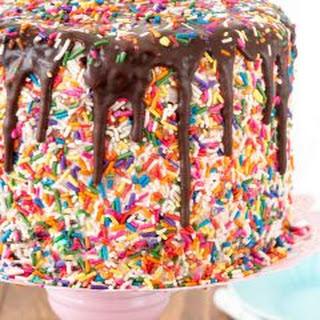 Funfetti Brownie Layer Cake.