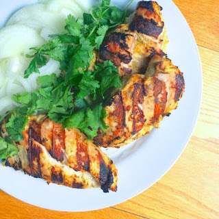 Indian Spiced Grilled Chicken.