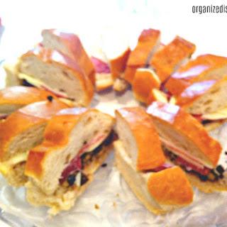 Muffaletta Sandwich.
