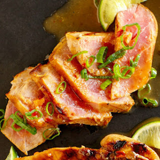 Lime Chili Marinated Tuna Steaks Recipe
