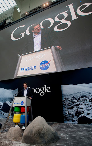 Google Moon Press Conference