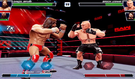 Guide WWE Mayhem - náhled