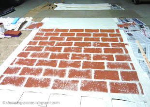 Photo: Brick Wall in Progress