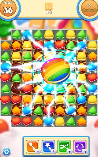 Cookie Macaron Pop : Sweet Match 3 Puzzle filehippodl screenshot 12