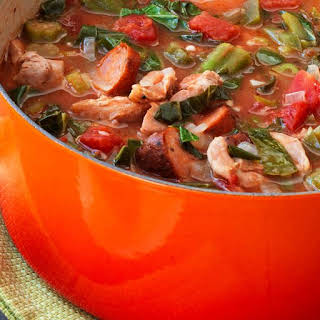 Chicken and Sausage Gumbo.