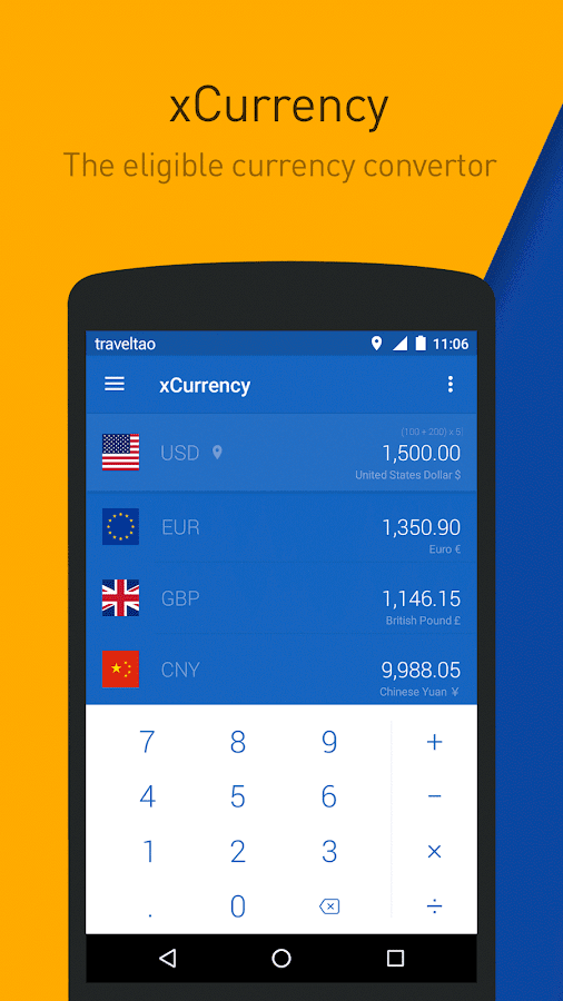 xCurrency - Smart Currency- screenshot