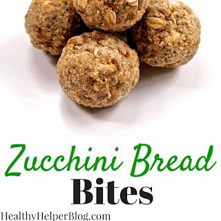 Zucchini Bread Bites