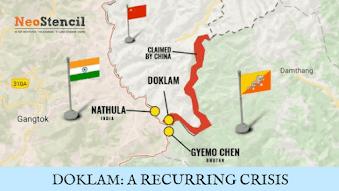 DOKLAM: A RECURRING CRISIS