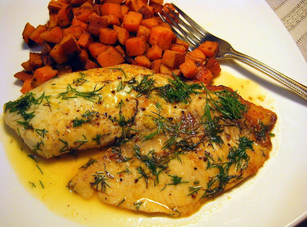 Baked Tilapia With Dill Sauce Recipe