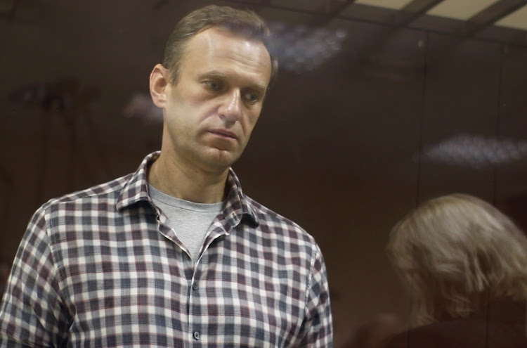 Kremlin critic Alexei Navalny. File photo.