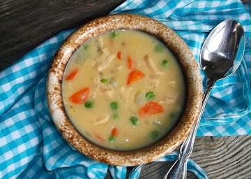 Semi-homemade Creamy Chicken Soup (stove Top) Recipe