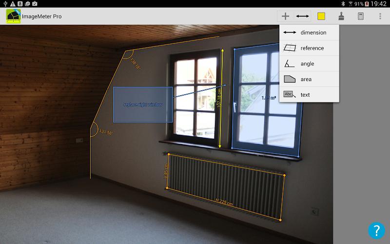 ImageMeter - photo measure Screenshot 5