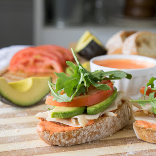 Avocado and Chicken Ciabatta Sandwich