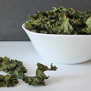 Easy Kale Chips.