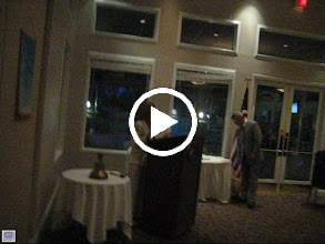 Video: Assistant District Governor Karen Weiss explaining the Paul Harris Fellowship, and presenting a PAUL HARRIS FELLOW  to Joe Alemany. - June 8, 2012