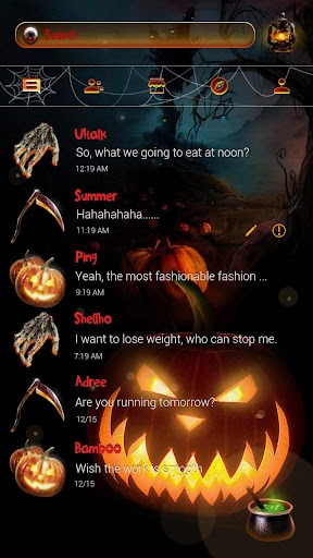 玩免費個人化APP|下載(FREE) HALLOWEEN NIGHT THEME app不用錢|硬是要APP