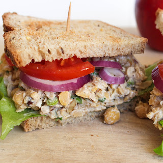 Chickpea Walnut Sandwich Recipe