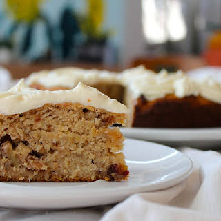 Hummingbird Maple Cake.