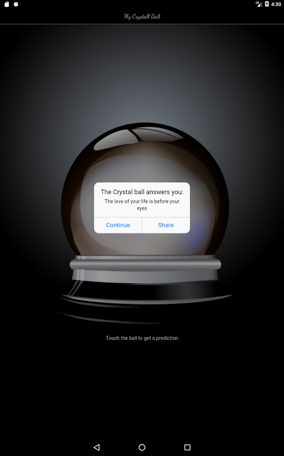 My Crystal Ball- screenshot