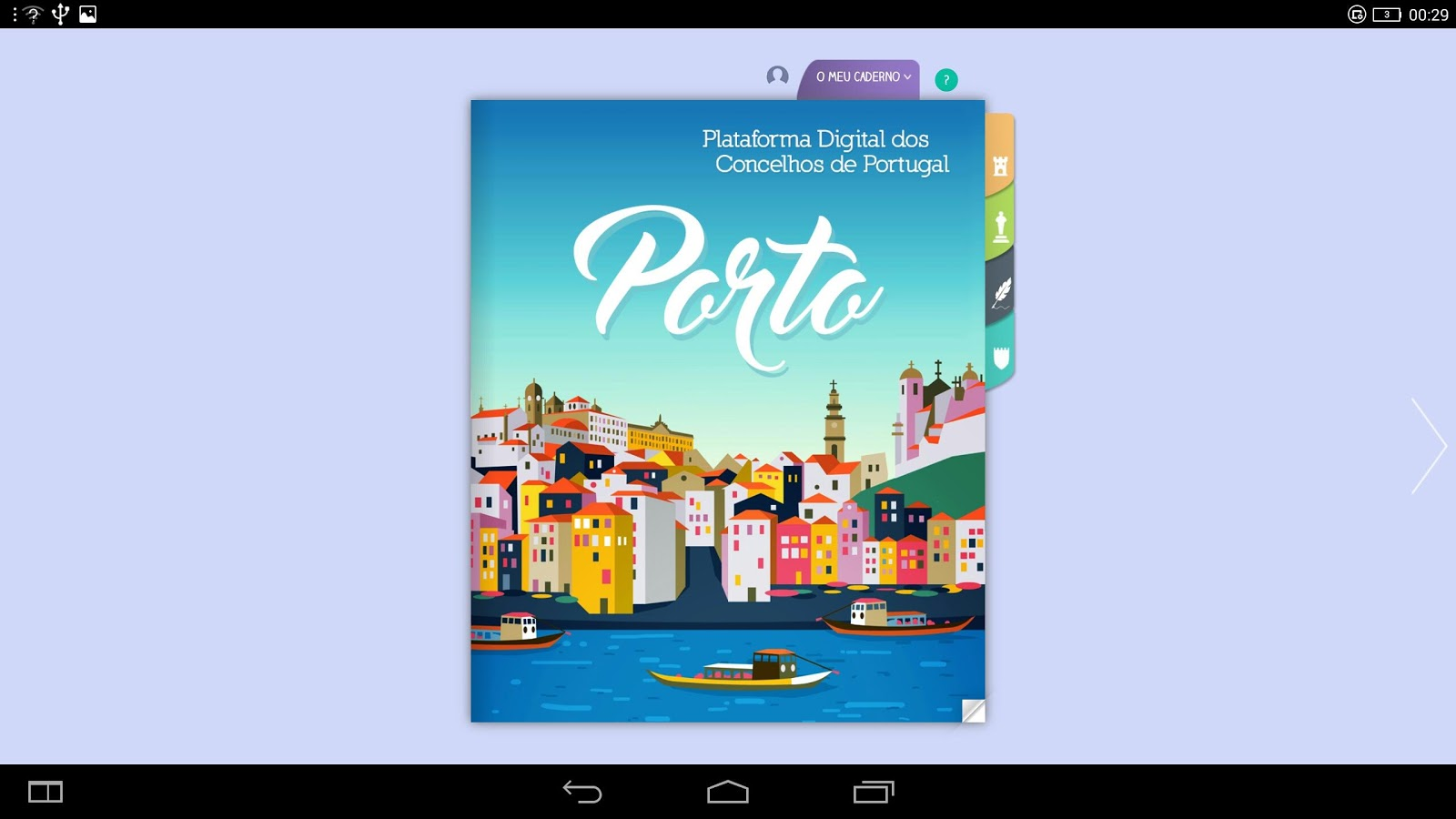 Porto - PDCP- screenshot